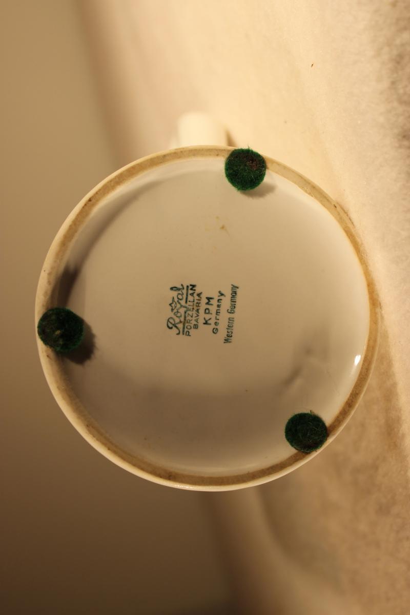Porcelain Stein Heidelberg |6089| Collection William Griffin