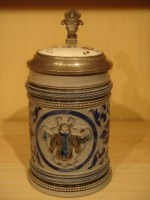 stein with occupational lid