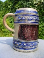 Westerwald Stein with Buckles, Manganese and Cobalt
