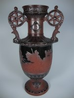 mythological vase