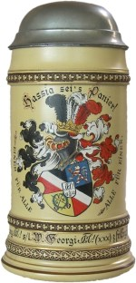 Student stein - Corps Hassia Giessen