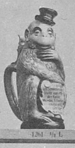 Monkey with verse