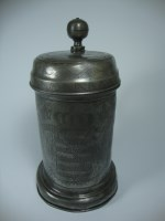 early pewter stein