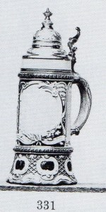 stein with blank panel