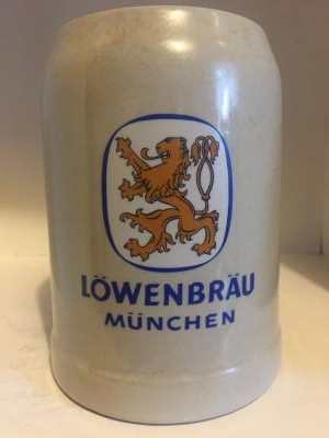 Lowenbrau Munchen gold lion
