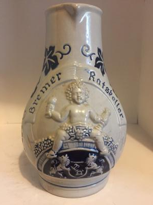 Bremen Ratskeller wine pitcher