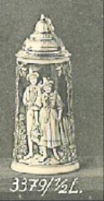stein with dancing couple