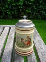 Miniatur Beerstein Lid with Photo