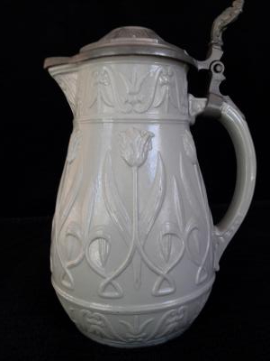 Floral Pattern Pitcher