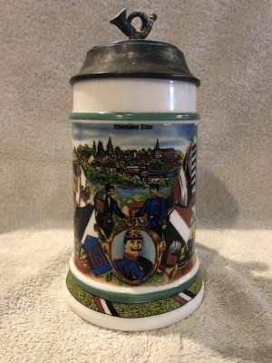 Regimental reproduction stein