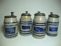 set of 4 'humpen'