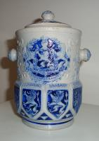 Tobacco jar Belgian Provinces