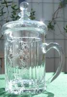 Lidded Glas Stein Germany Zwiesel