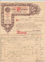 Original invoice from Brüder Thannhauser