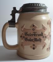 Beer Stein Hauber & Reuther Mold No. 159