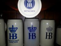 HB Beer Stein set of 3
