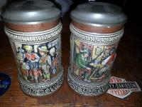 Gerz pair of 1/3l Steins