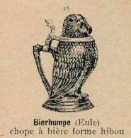 Owl shaped stein