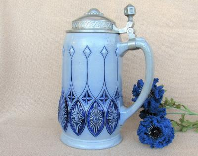 1910s Large 1L Marzi Remy Stein