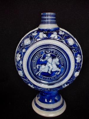 Westerwald Vase(bottle of liquer.