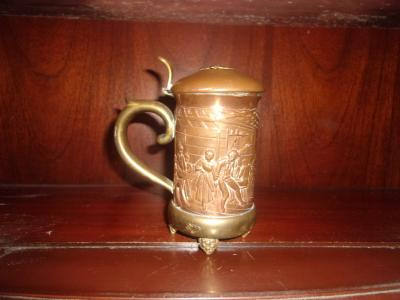 Mixed Metal Stein
