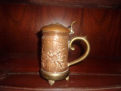 Copper-Pewter Stein
