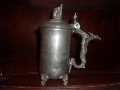 Pewter Pouring Stein