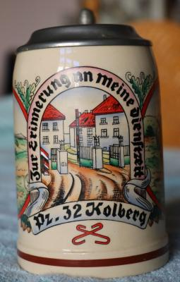 German WW ll Regimental Stein