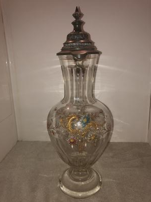 20th Century Glass Stein