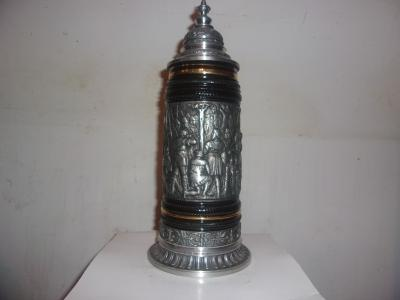Thewalt Pewter Wrapped Stein