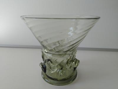 Old style drinking glass (reproduction)