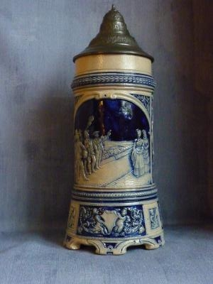 19th century Musical Westwald stein