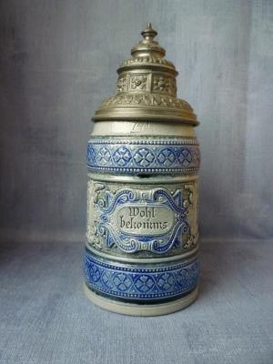 Late 19th century Westwald stein