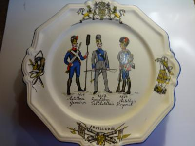 Wall Plates of Bavarian Regiments