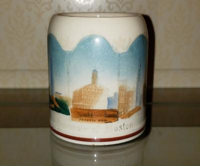 Boston Souvenir Mug, ca. 1900