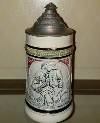 Old German Stein (Unknown Maker), ca. 1900