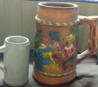 Giant beer stein (possibly japanese)