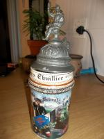 German military beer stein - Reserv. Chuillier