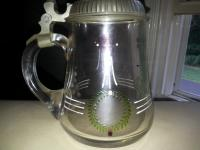 German Blown Glass Stein